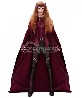 Marvel Wanda Vision Wanda Maximoff Withch Cosplay Costume