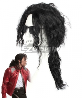 Michael Jackson Black Cosplay Wig