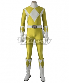 Mighty Morphin' Power Rangers Boy Tyranno Ranger Cosplay Costume - Including Boots