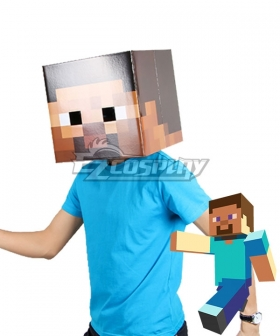 Minecraft Mask Cosplay Weapon Prop