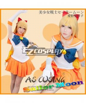 Sailor Moon Minako Aino Mina Aino Sailor Venus Cosplay Costume - Deluxe Edition