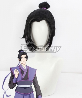 The Grandmaster Of Demonic Cultivation Mo Dao Zu Shi Young Jiang Cheng Black Cosplay Wig