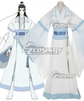 The Grandmaster of Demonic Cultivation Mo Dao Zu Shi Young Lan Wangji Cosplay Costume