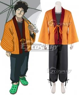 Mob Psycho 100 Katsuya Serizawa Kimono Cosplay Costume