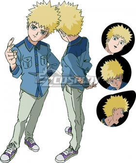 Mob Psycho 100 Season 2 Teruki Hanazawa Cosplay Costume
