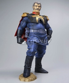 Mobile Suit Gundam Ramba Ral Cosplay Costume