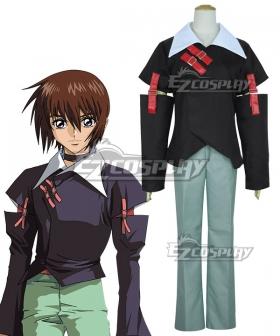 Mobile Suit Gundam SEED Kira Yamato Black Cosplay Costume