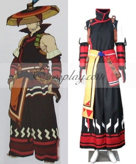 Monster Hunter 3RD Yukumo Armor Cosplay Costume