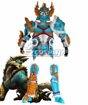 Monster Hunter Portable 3rdThunder Wolf Wyvern Zinogre Armor Cosplay Costume