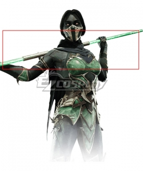 Mortal Kombat 11 Jade Stick Cosplay Weapon Prop