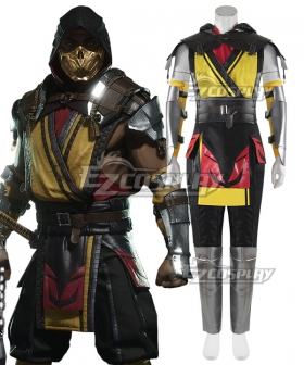 Mortal Kombat 11 Scorpion Cosplay Costume