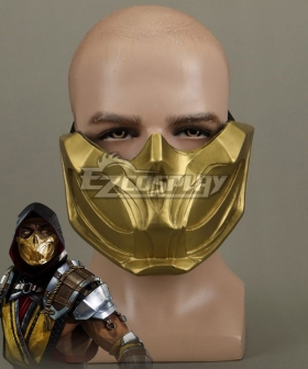 Mortal Kombat 11 Scorpion Halloween Mask Cosplay Accessory Prop