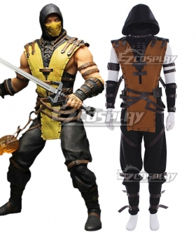 Mortal Kombat X Scorpion New Edition Cosplay Costume