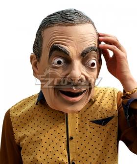 Mr. Bean Mr.Bean Mask Halloween Helmet Cosplay Accessory Prop
