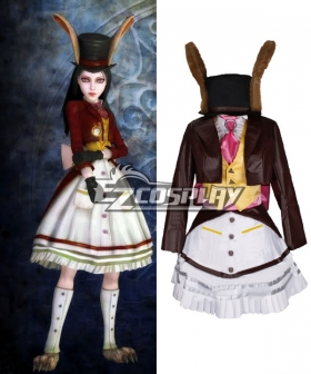 Alice: Madness Returns Alice Lucky Rabbit Utimate Cosplay Costume