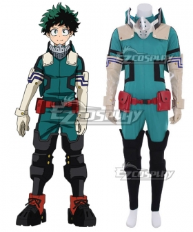 My Hero Academia Boku No Hero Akademia Izuku Midoriya Deku New Edition Gamma Suit 2.0 Cosplay Costume