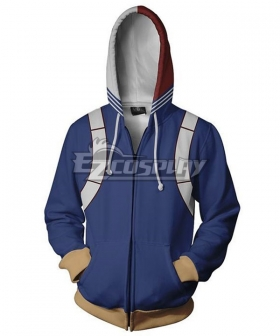 My Hero Academia Boku No Hero Akademia Shoto Todoroki Coat Hoodie Cosplay Costume
