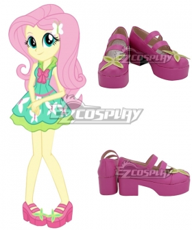 My Little Pony Equestria Girls Fluttershy Pink Cosplay Shoes