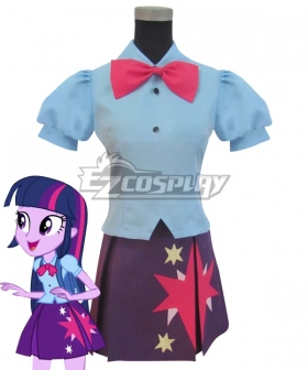 My Little Pony Equestria Girls Twilight Twilight Sparkle Cosplay Costume