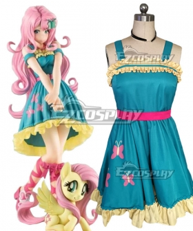 My Little Pony: The Movie Equestria Girls Fluttershy Cosplay Costume
