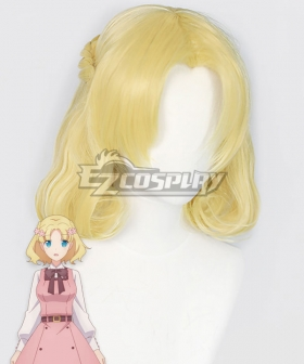 My Next Life as a Villainess: All Routes Lead to Doom! Maria Campbell Golden Cosplay Wig