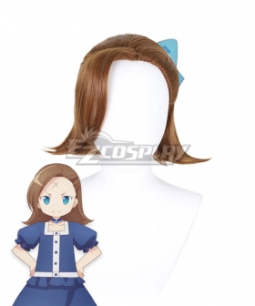 My Next Life as a Villainess: All Routes Lead to Doom! Young Little Katarina Claes Brown Cosplay Wig