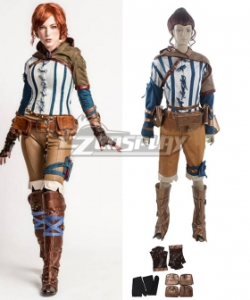 The Witcher 3: Wild Hunt Triss Cosplay Costume