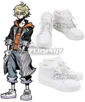 Neo: The World Ends With You Rindo Silver Cosplay Shoes