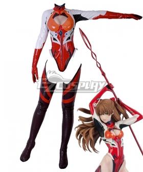 Neon Genesis Evangelion EVA Asuka Langley Sohryu Flare Cosplay Costume