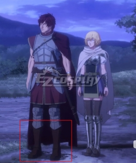 Netflix Dragon's Dogma Anime Hannah Silver Shoes Cosplay Boots