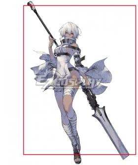 NieR Re[in]carnation Reincarnation Unknown Female Cosplay Weapon Prop
