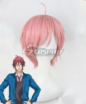 Nijiiro Days Rainbow Days Tomoya Matsunaga Pink Cosplay Wig