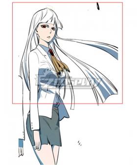 Noblesse Seira J. Loyard White Cosplay Wig