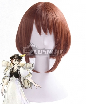 Octopath Traveler Tressa Colzione Brown Cosplay Wig