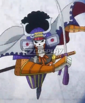 One Piece Brook Burukku Onigashima Cosplay Costume