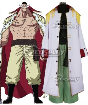 One Piece Edward Newgate Whitebeard Cosplay Costume