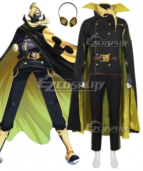 One Piece Germa 66 Sanji Vinsmoke Cosplay Costume