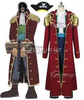 One Piece Gol D Roger Cosplay Costume