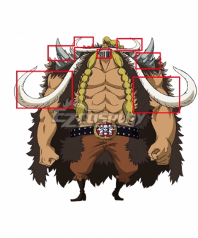 One Piece Jack Cosplay Accessory Prop