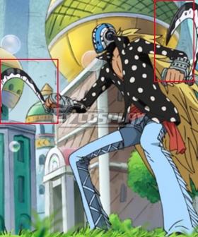 One Piece Killer Cosplay Weapon Prop