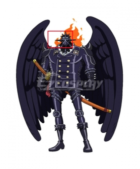 One Piece King Mask Cosplay Accessory Prop