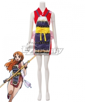 One Piece Nami Onigashima Ninja Cosplay Costume