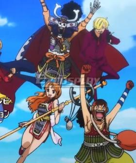 One Piece Trafalgar D. Water Law Onigashima Cosplay Costume