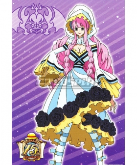 One Piece Perona 15th Anniversary Cosplay Costume