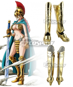 One Piece Rebecca Godeln Shoes Cosplay Boots