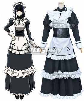 Overlord II Narberal Gamma Maid Dress Cosplay Costume