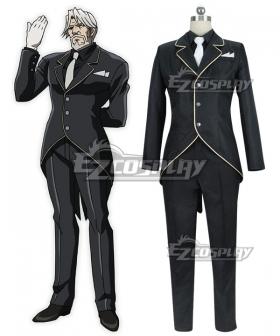 Overlord Sebas Tian Cosplay Costume