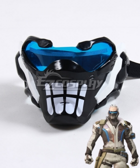 Overwatch OW Soldier 76 John Jack Morrison Bone Mask Cosplay Accessory Prop