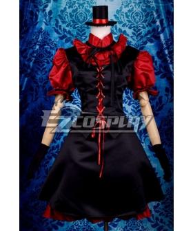 My Little Monster Nacimi Asako Lolita Cosplay Costume Deluxe-P8