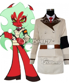 Panty And Stocking with Garterbelt Scanty & Kneesocks Devil Sisters Cosplay Costume